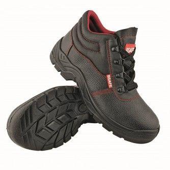 Работни обувки - боти с бомбе и пластина