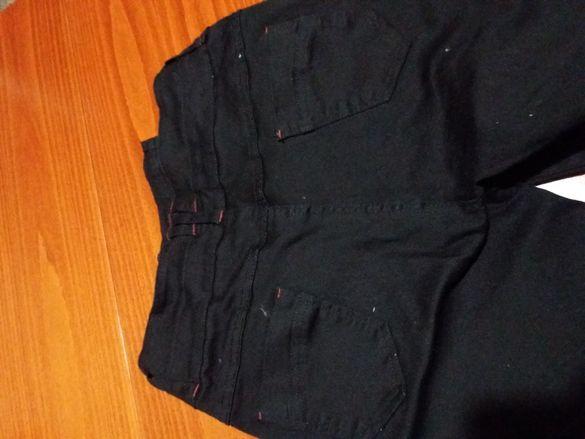 Черен дълъг панталон
