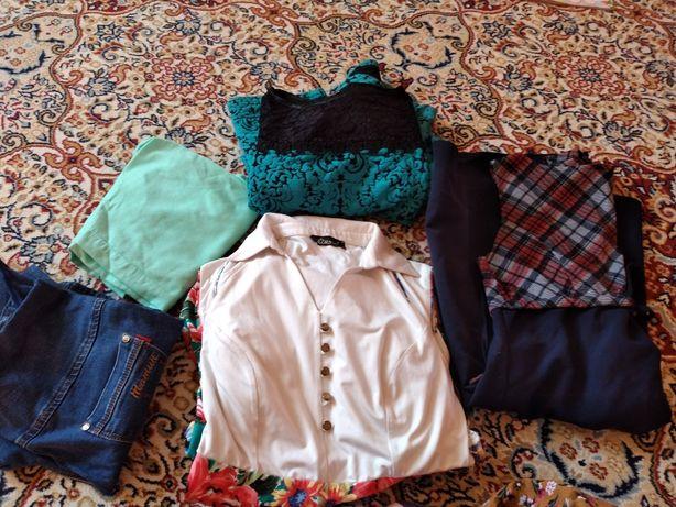 Женские одежды,отдам даром