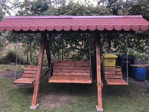 Balansoar / Hinta lemn 4 locuri