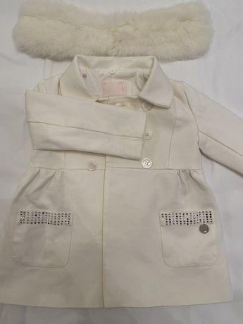 Paltonas alb fetita