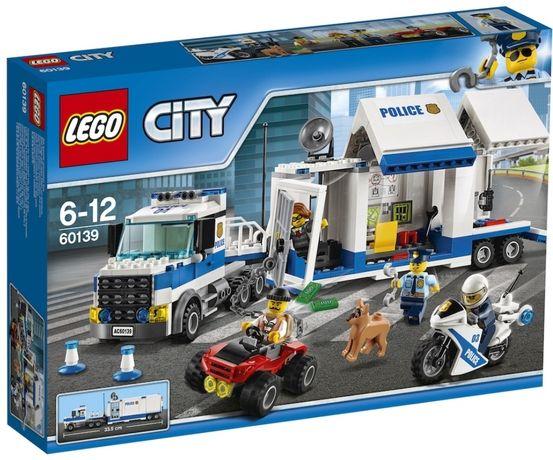 LEGO City Police - Centru de comanda mobil 60139