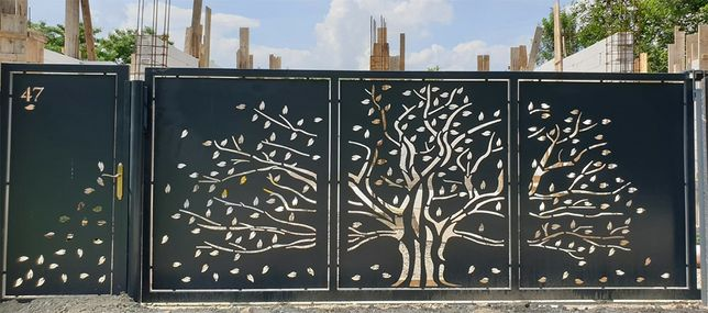 Porti Decupate Garduri