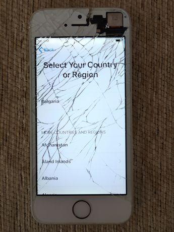 IPhone 5s - за части или ремонт