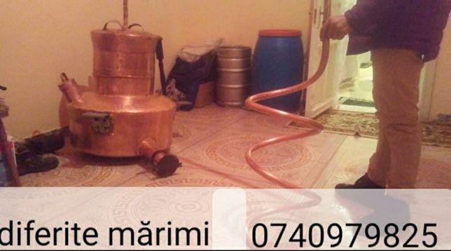 Vand cazan de tuica de 120 litri complet este confecționat din cupru a