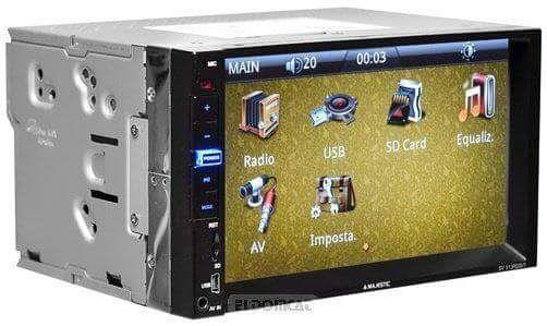 Dvd2din,4x60w,mp4,touchscreen,usb+sina fixare+telecomanda3lunigarantie