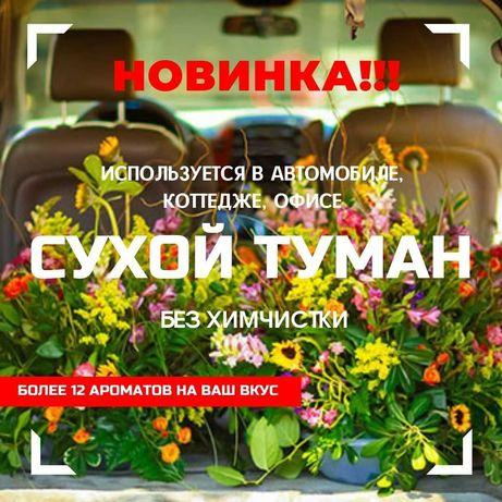 Сухой экотуман в Алматы. Устранение запахов в авто за 15 минут