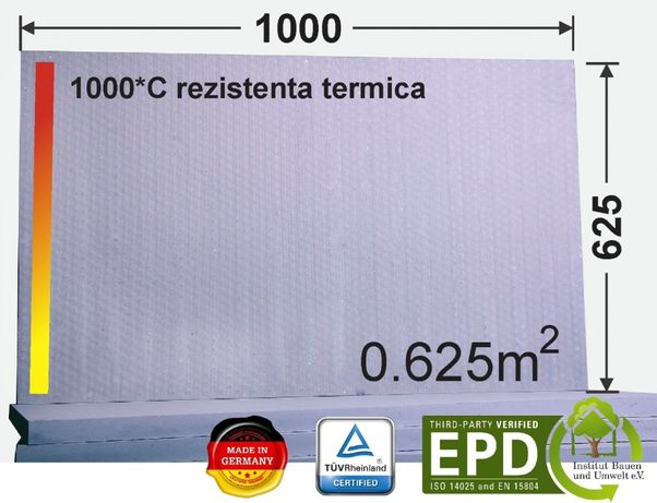Silicat de calciu 1000x610x25 mm