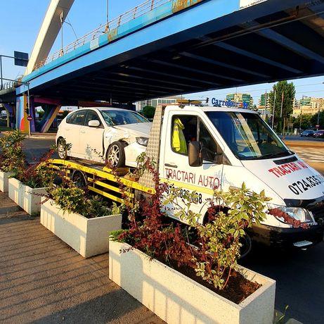Tractari auto București Ilfov si România nonstop