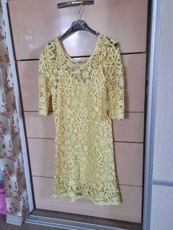 Жълта лятна рокля Guess