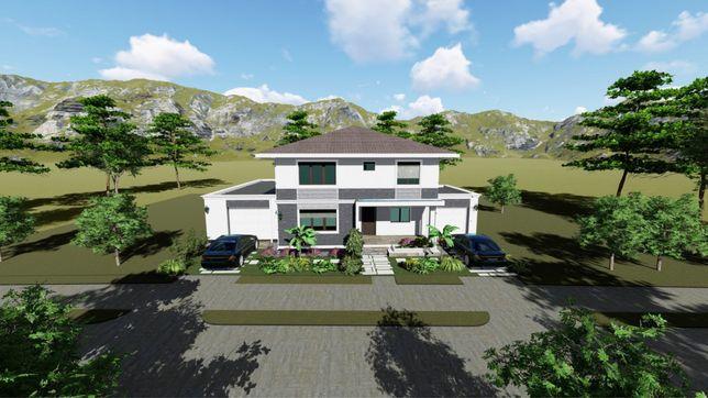 Casa individuala P+1E cartier Plopi