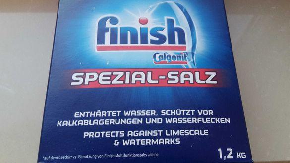 ОРИГИНАЛ Finish Сол за съдомиялна Финиш  1.2 кг от Германия