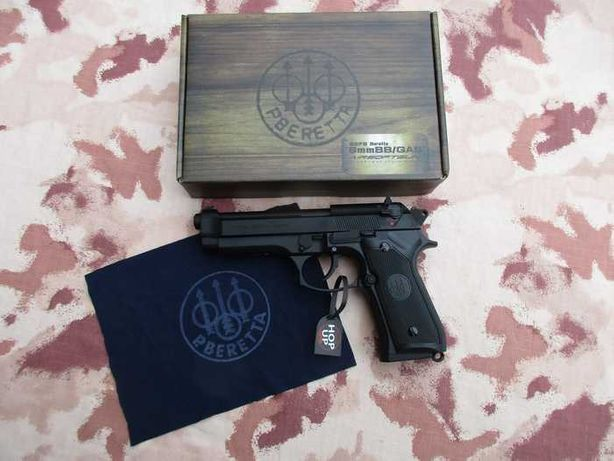 Cel mai puternic Pistol Airsoft Beretta M9/Co2/ 218 m/s # NEW MODEL#