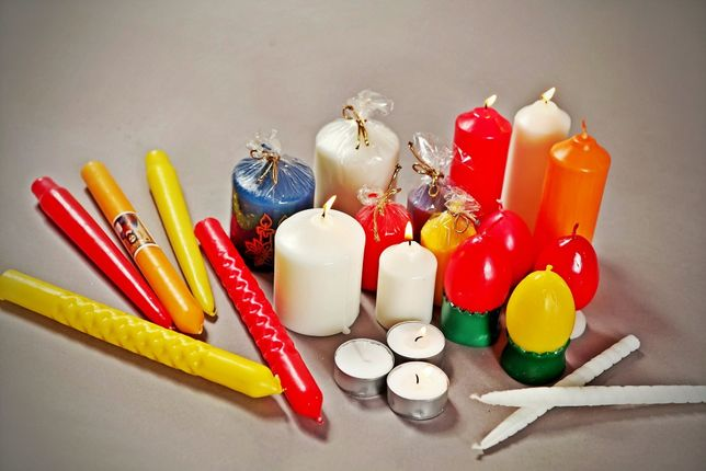 Lumanari nunta,botez,festive,cult