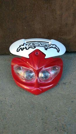 Masca motocicleta street fighter. NOU !