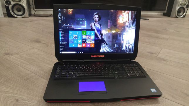 "laptop ALIENWARE ,intel core i7-6820hk ,video 8 GB GTX 980 ,32 gb, 17"""