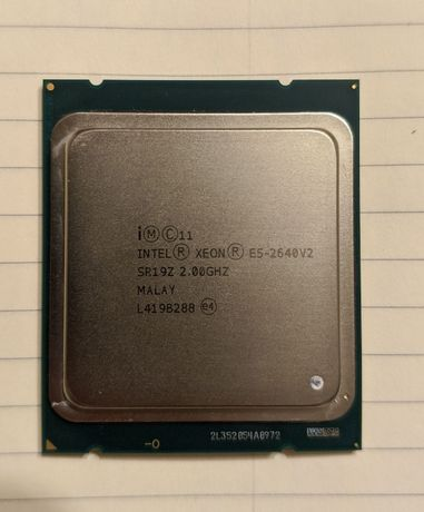 Procesor Intel Xeon Octa Core E5-2640v2, 8 nuclee, max. 2.5 GHz