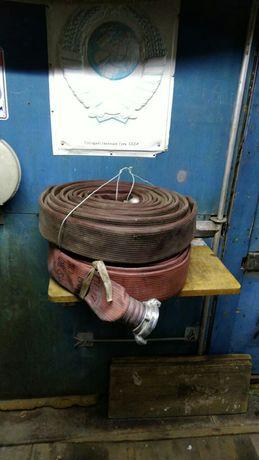Продаю два пожарных шланга новые не использовались