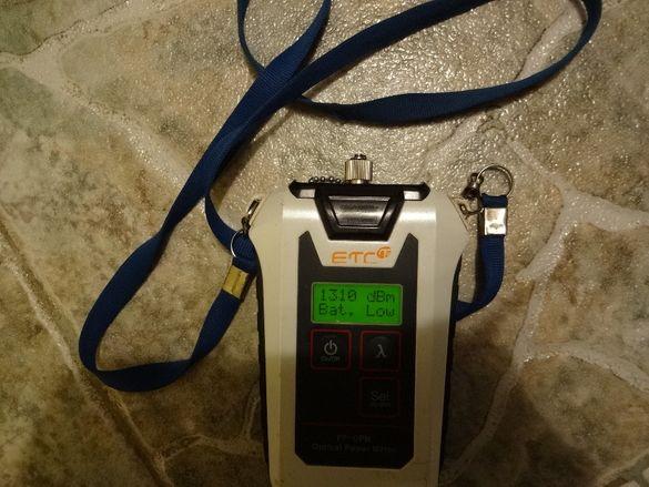 Измерител на оптична мощност ETC FP-OPM
