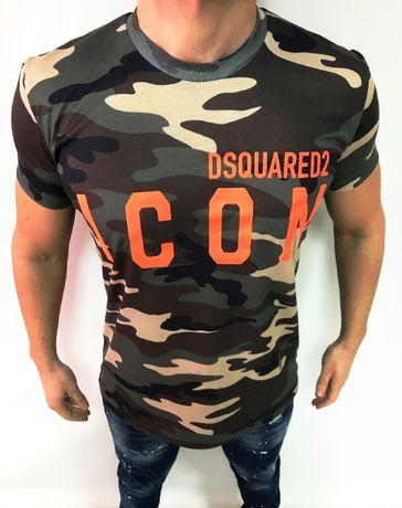 Мъжка тениска Dsquared Camouflage Icon 2021 !!!
