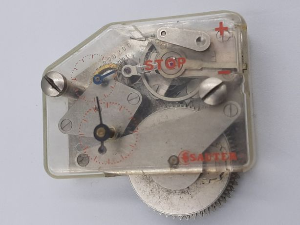 Ceas macheta SAUTER cronometru model macheta anii 1970-functional-