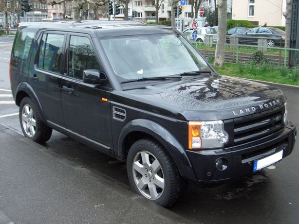 Bara Fata Land Rover Discovery 3 2004-2009 Senzori Parcare Proiectoare