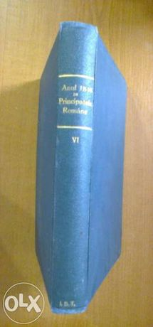 Anul 1848 in principatele romane tomul VI