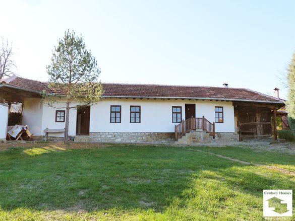125135 Реновирана едноетажна къща след ремонт с огромен двор