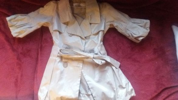 Нов шлифер 4г 30лв Блуза с ризка Pepe Jeans 10лвРокля балеринкаH&M30лв