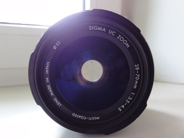 Sigma 28-70 mm 3,5-4,5