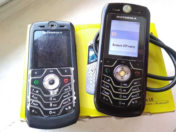 Motorola L6 Original + Запчасти