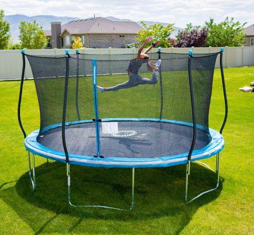 Trambulina elastica copii cu protectie 3,66 metri, NOUA, curier 29lei