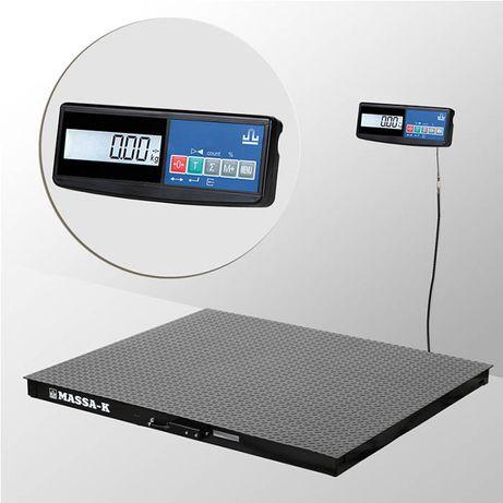Весы платформенные 4D-PM-1500А (1,0м*1,2м)