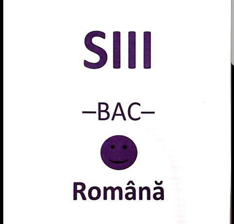 BAC DE 10 Dosar eseuri romana SUBIECTUL AL III-LEA