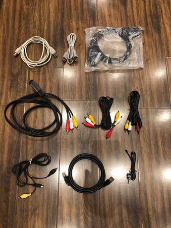 Различни кабели с различни накрайници
