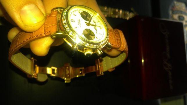 продам коллекционный бриллиантовый хронограф