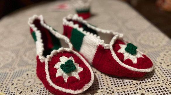 Терлици Българско знаме 36-41 ръчна изработка