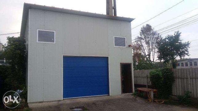 Inchiriez Spatiu HALA 100 MP Garaj SERVICE Vulcanizare AUTO / Depozit