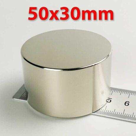 50x30мм МАГНИТ неодимов N52, Neodymium magnet, магнет фишинг, Magnet