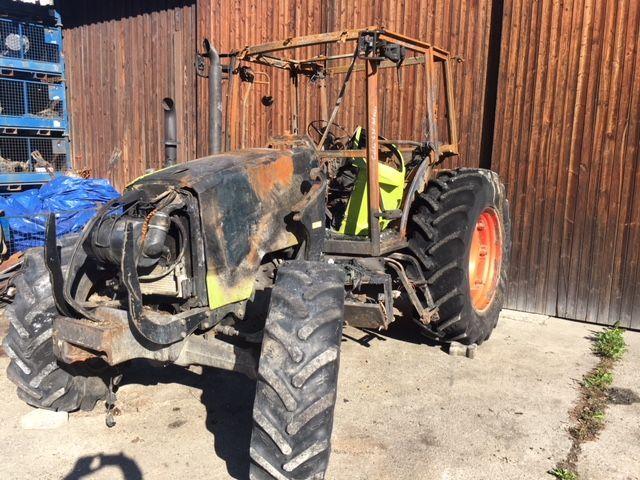Dezmembrez Tractor Renault 550 Rz Mureseni - imagine 1