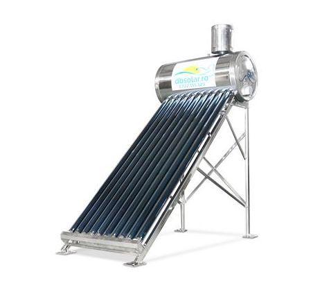 Panou SOLAR NEpresurizat INOX 130 Litri Apa Calda Panouri Solare ‼️