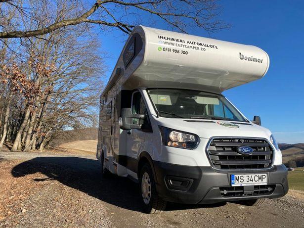 Inchirieri autorulote Premium/Benimar 340 Up/ Targu Mures/ Easy Camper