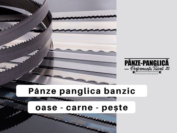 Panza fierastrau oase, THO 2080x16x4T panglica I banzic I macelarie