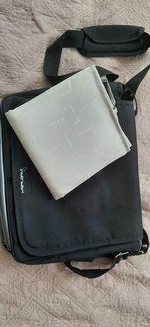 Черна чанта за количка