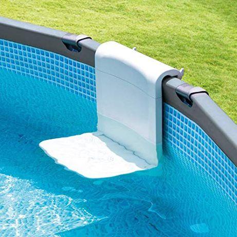 Scaun (banca) Intex pentru piscine supreterane cu cadru metalic 28053