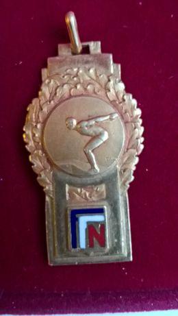 Medalie de aur Inot Franta 1938