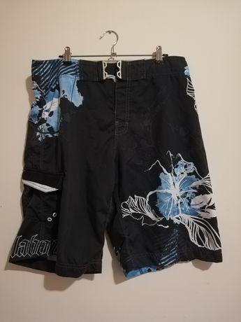 Pantalon sort baie BILABONG, culoare negru