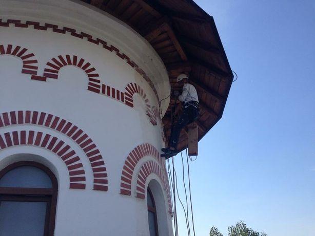Servicii de alpinism  utilitar Iasi, lucrări la înălțime
