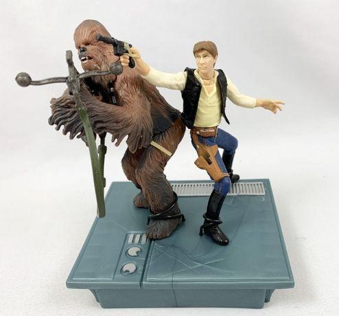 Figurine Hasbro Star Wars Han Solo & Chewbacca