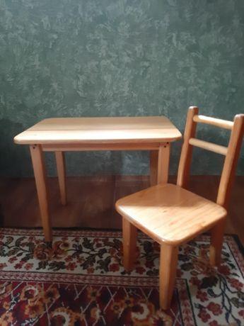 Стол+стул набор для детей.